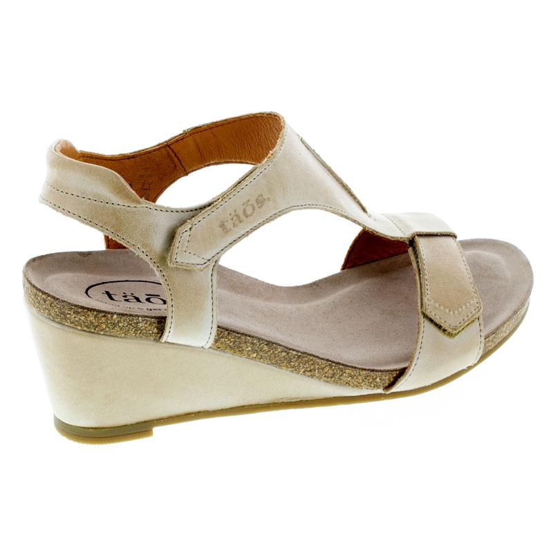 Taos Sheila Stone Leather High Heel 40