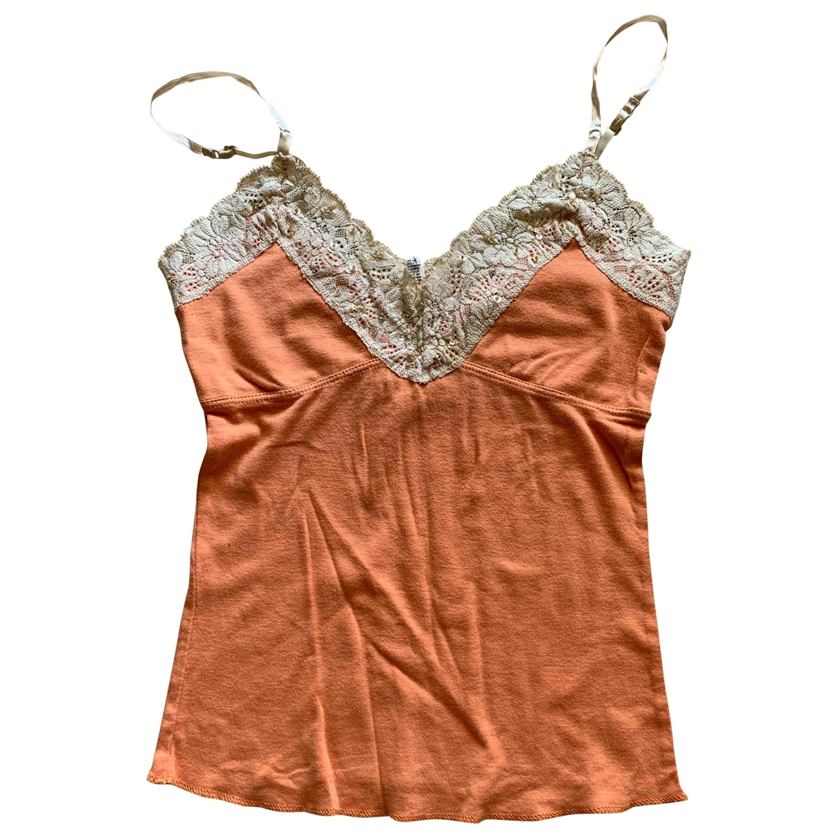 Abercrombie & Fitch \N Orange Cotton  top for Women S International
