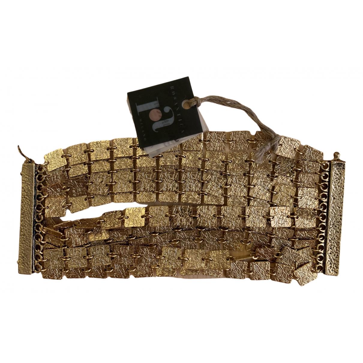 Rosantica \N Gold Metal bracelet for Women \N
