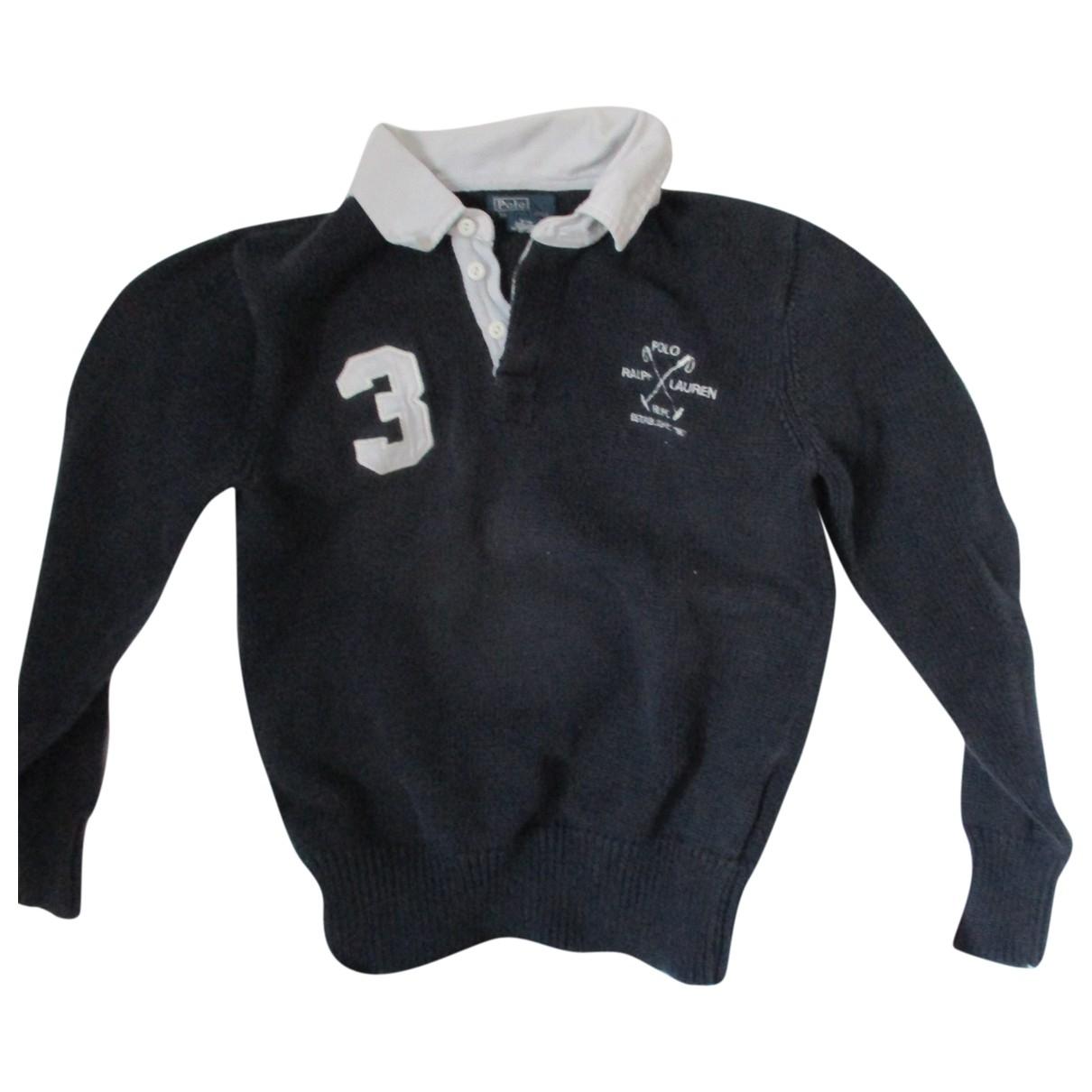 Polo Ralph Lauren \N Blue Cotton Knitwear for Kids 12 years - XS UK