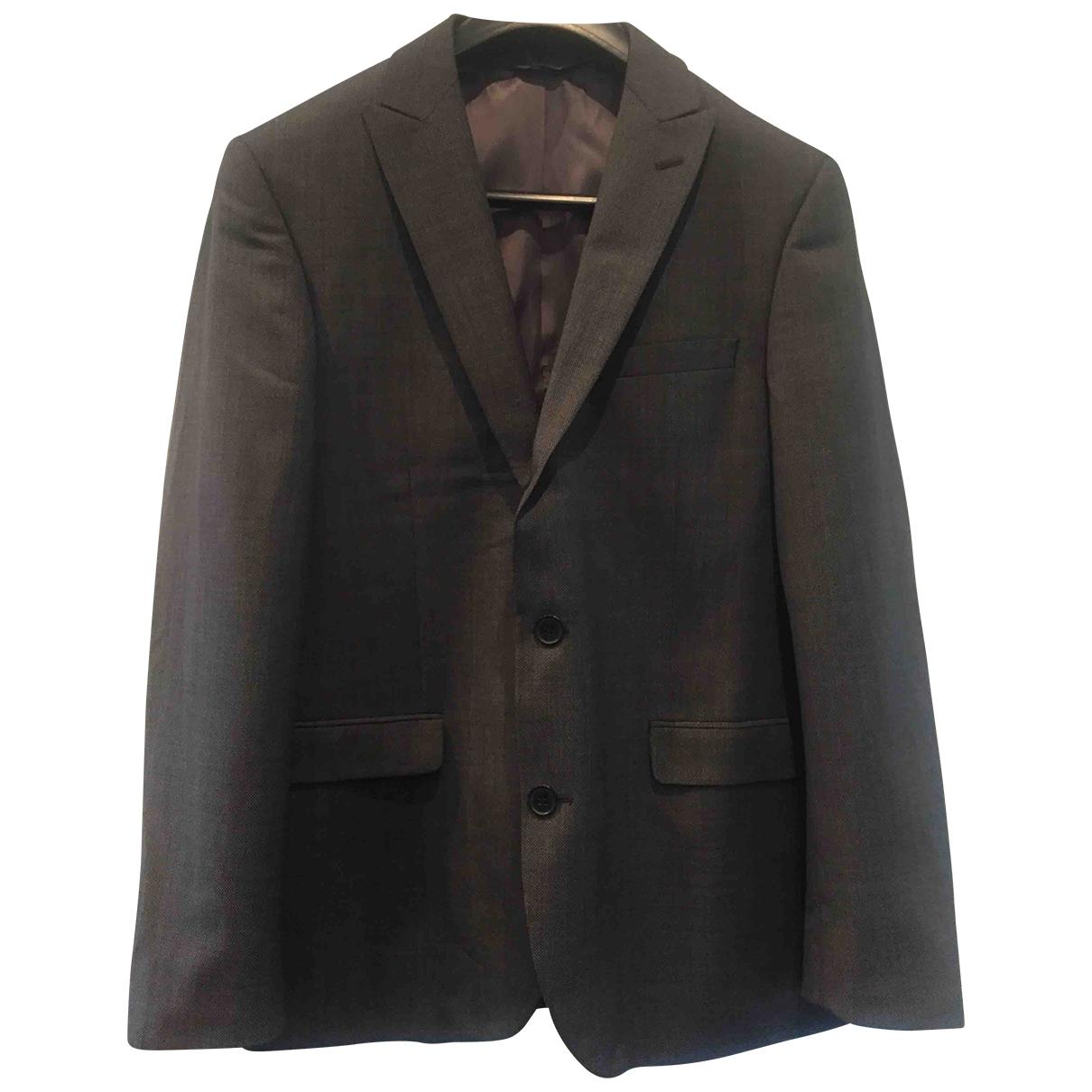 Dkny \N Grey Wool jacket  for Men 40 UK - US