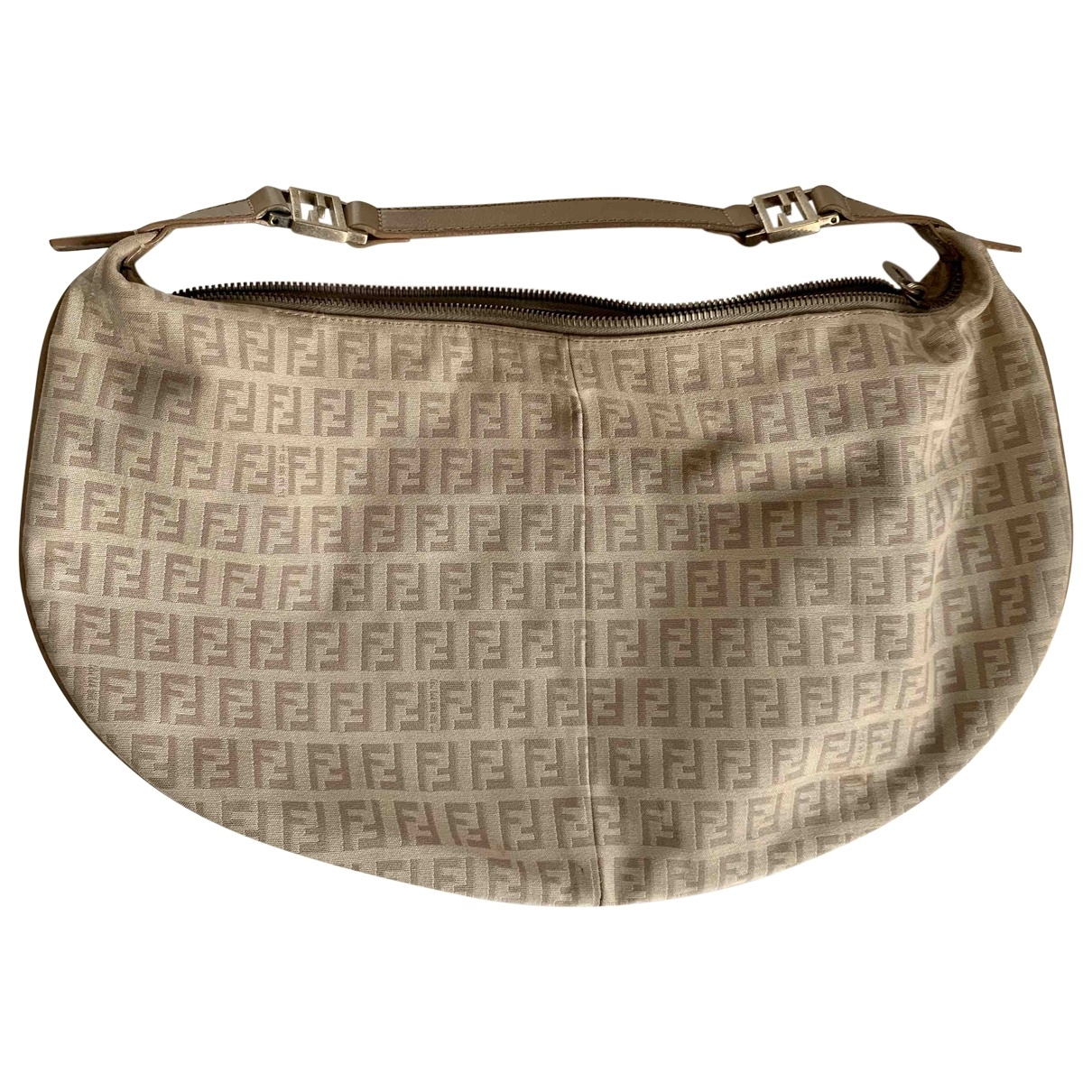 Fendi \N Beige Cotton handbag for Women \N