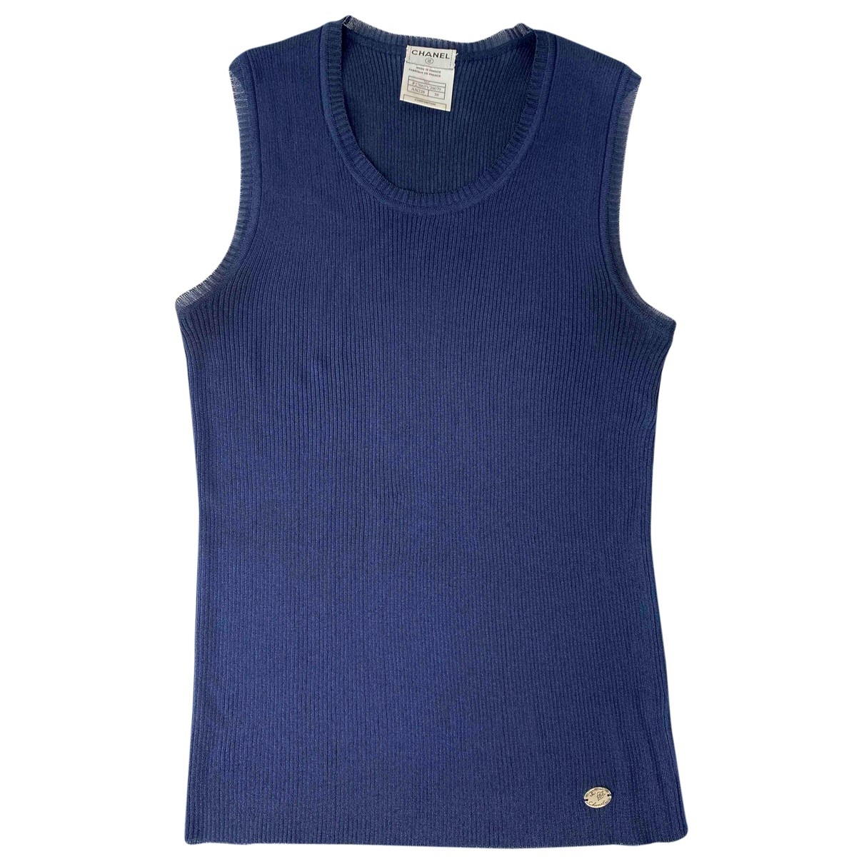 Chanel \N Navy  top for Women 38 FR