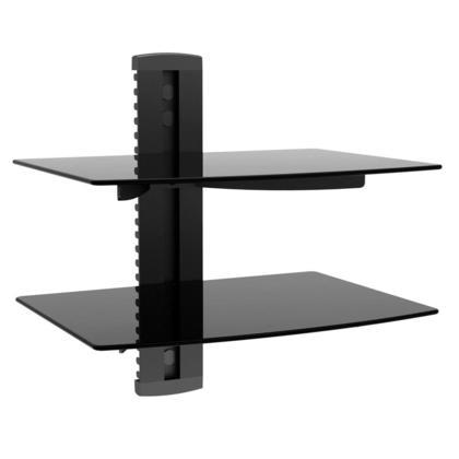 2 Shelf Wall Mount Bracket for TV Components, UL Certified - Monoprice®