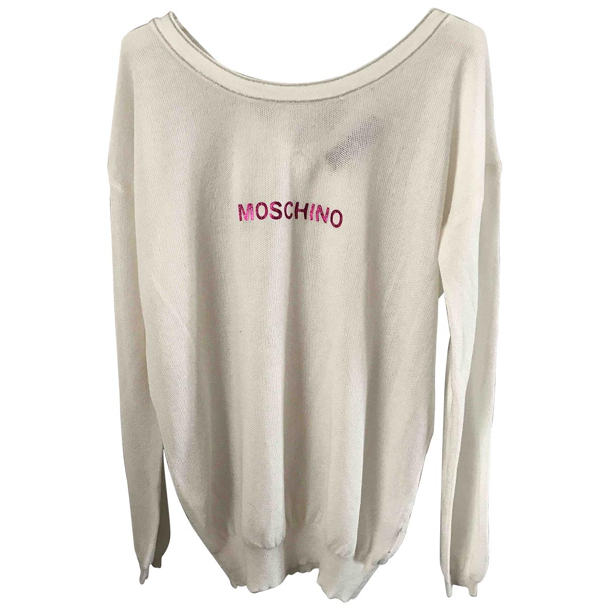 Moschino Love \N White Cotton Knitwear for Women L International
