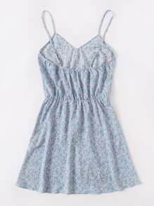 Ditsy Floral Slip Dress