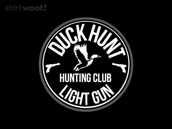 Light Gun Hunting Club T Shirt