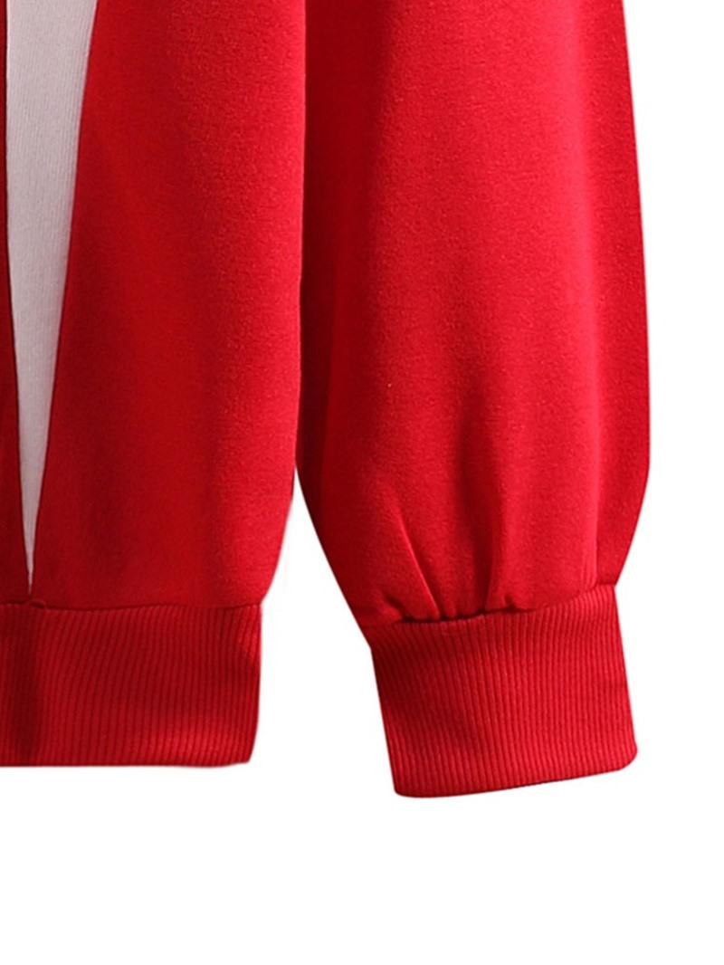 Ericdress Regular Color Block Pullover Casual Fall Hoodies
