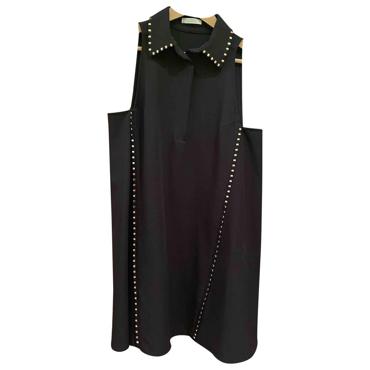 Versace Jeans \N Black dress for Women 44 IT