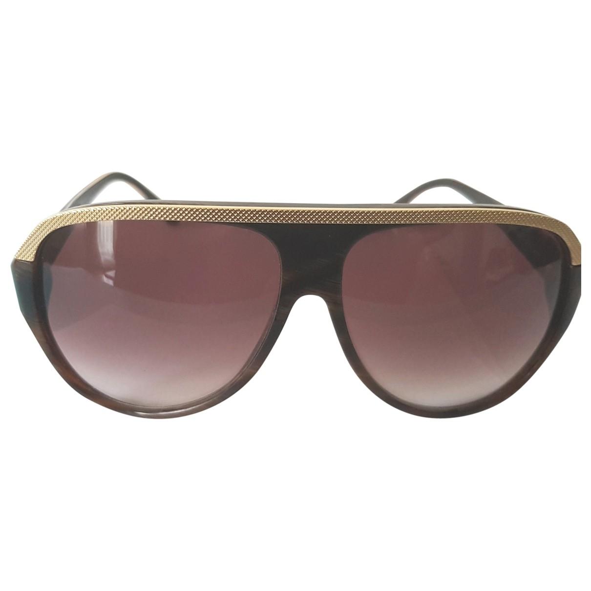 Balenciaga \N Brown Sunglasses for Women \N