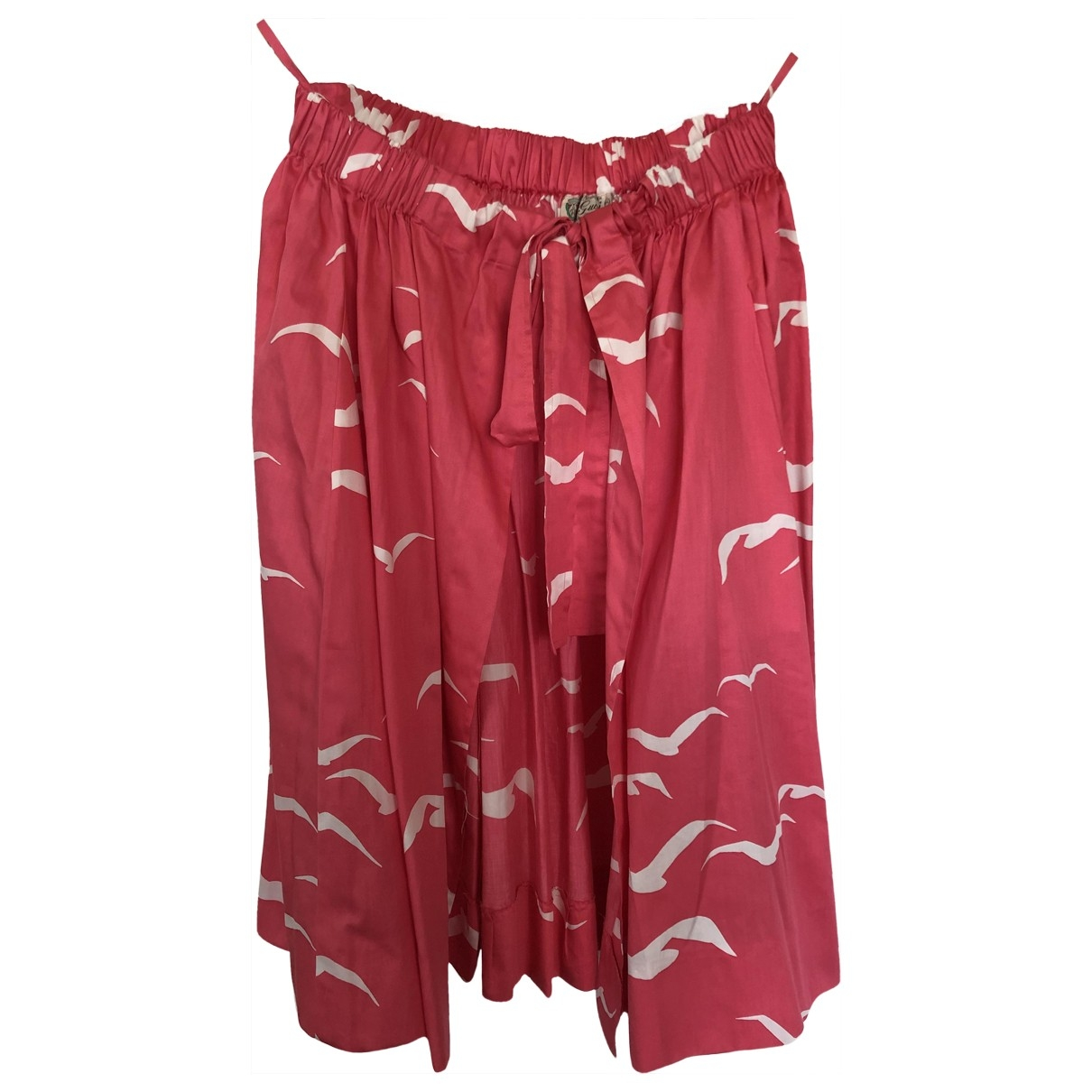 Gucci \N Pink Cotton skirt for Women 44 IT