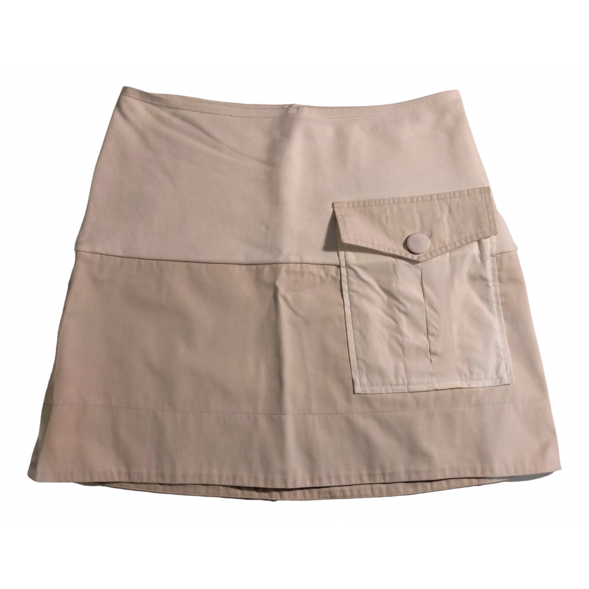 Moncler \N Beige Cotton skirt for Women XS International