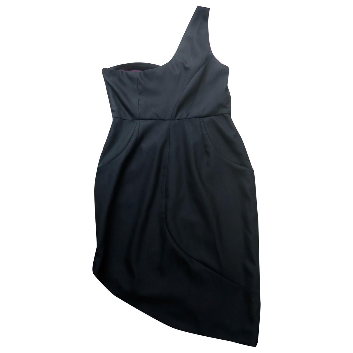 Alice & Olivia \N Black Wool dress for Women 8 US