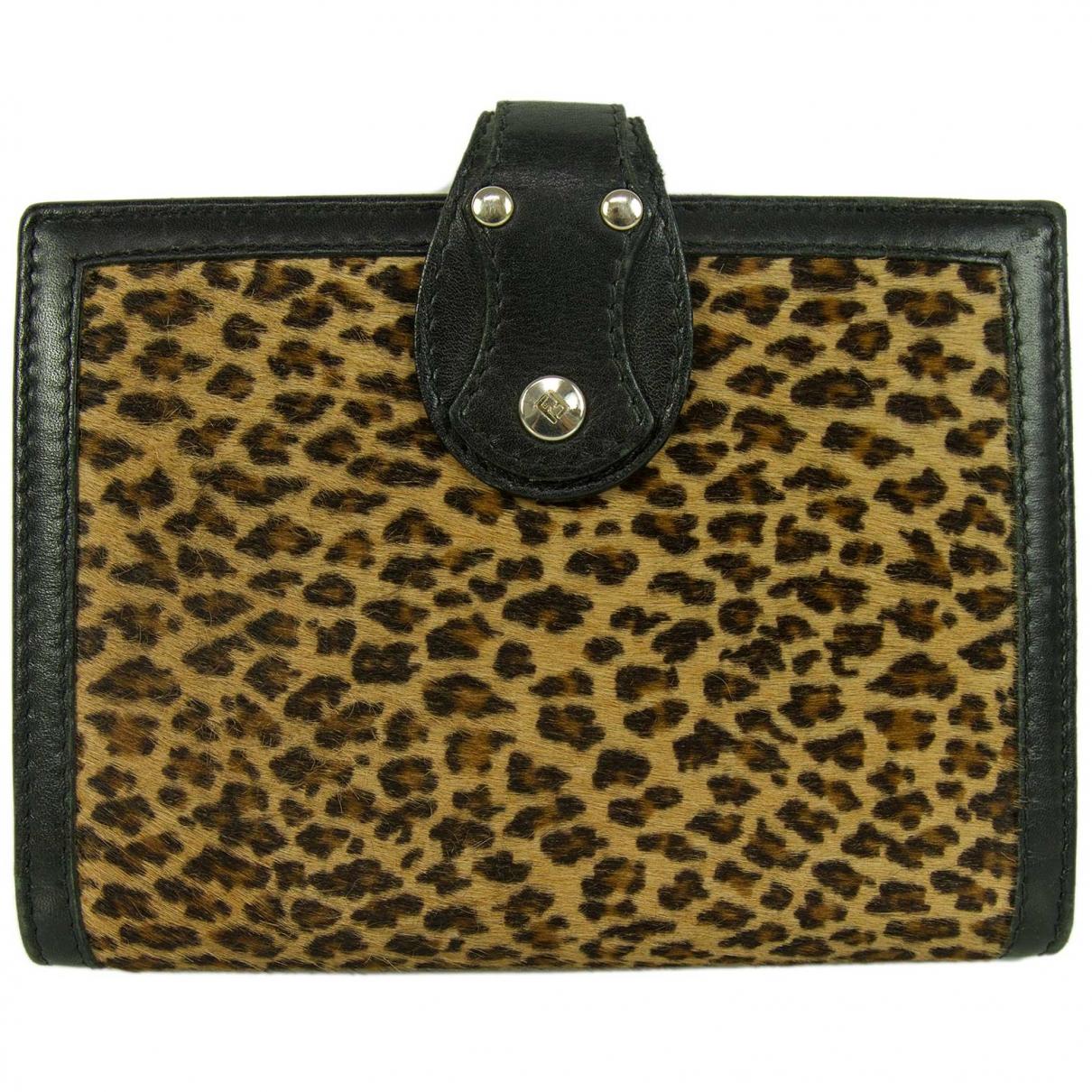 Fendi \N Brown Fur Purses, wallet & cases for Women \N