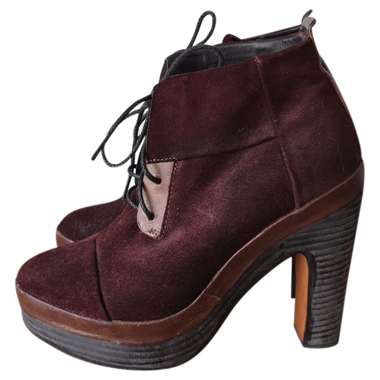 Rag & Bone \N Brown Leather Ankle boots for Women 37 EU