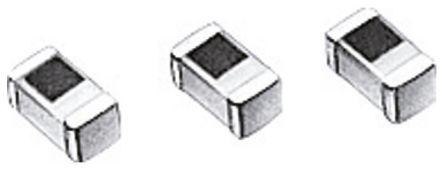 TDK 1.5 nH ±0.3nH Multilayer SMD Inductor, 0603 (1608M) Case, SRF: 19.6GHz Q: 8 600mA dc 100mΩ Rdc (10)