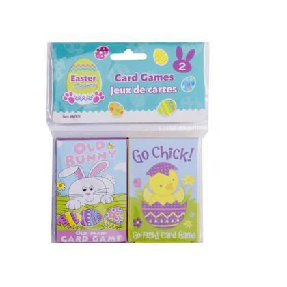 Easter Fun Card Games 2 Pcs/Pack