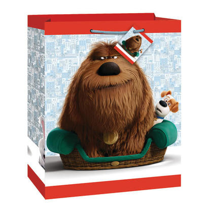 The Secret Life of Pets 1 Large Gift Bag For Birthday Party