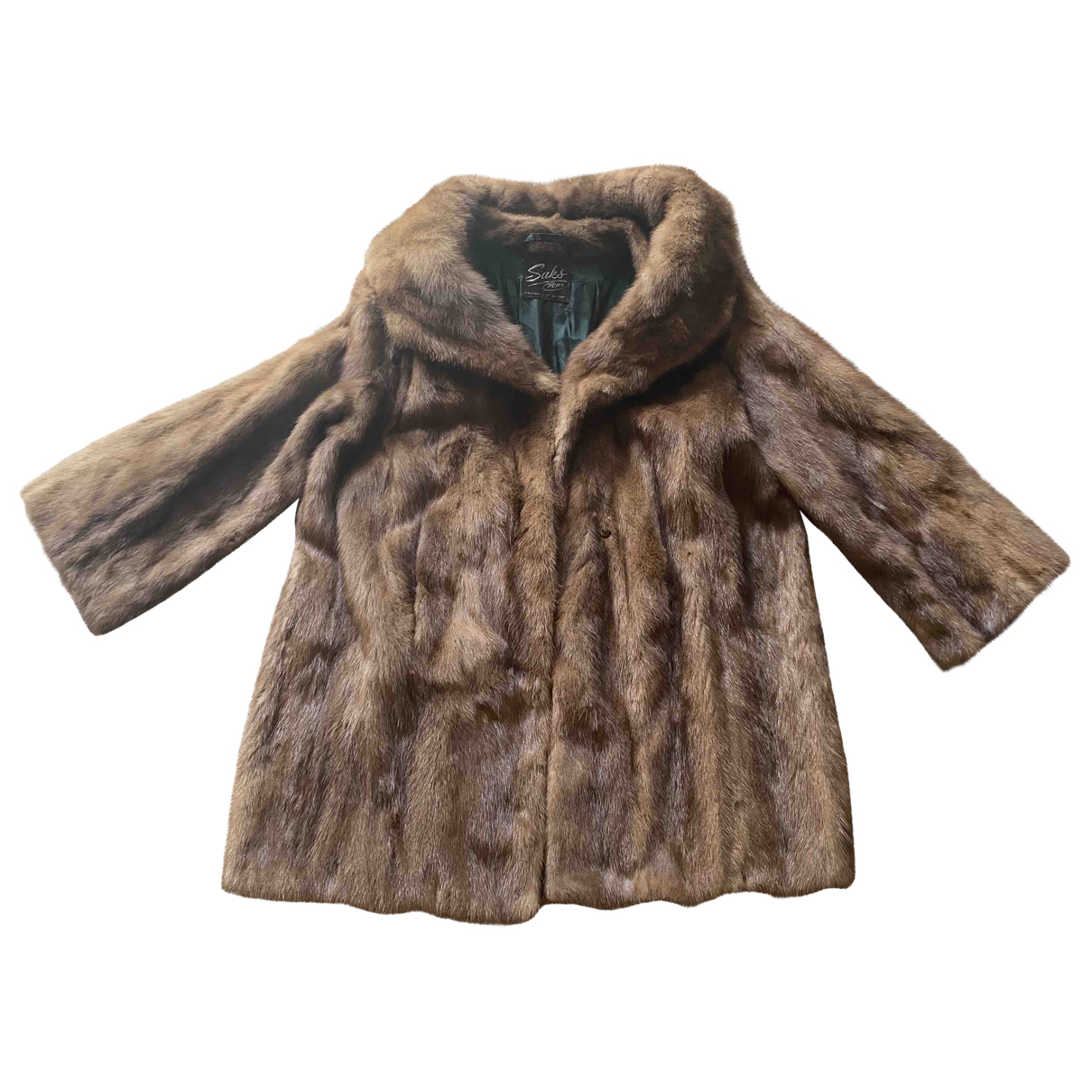 Non Signé / Unsigned \N Brown Mink coat for Women L International