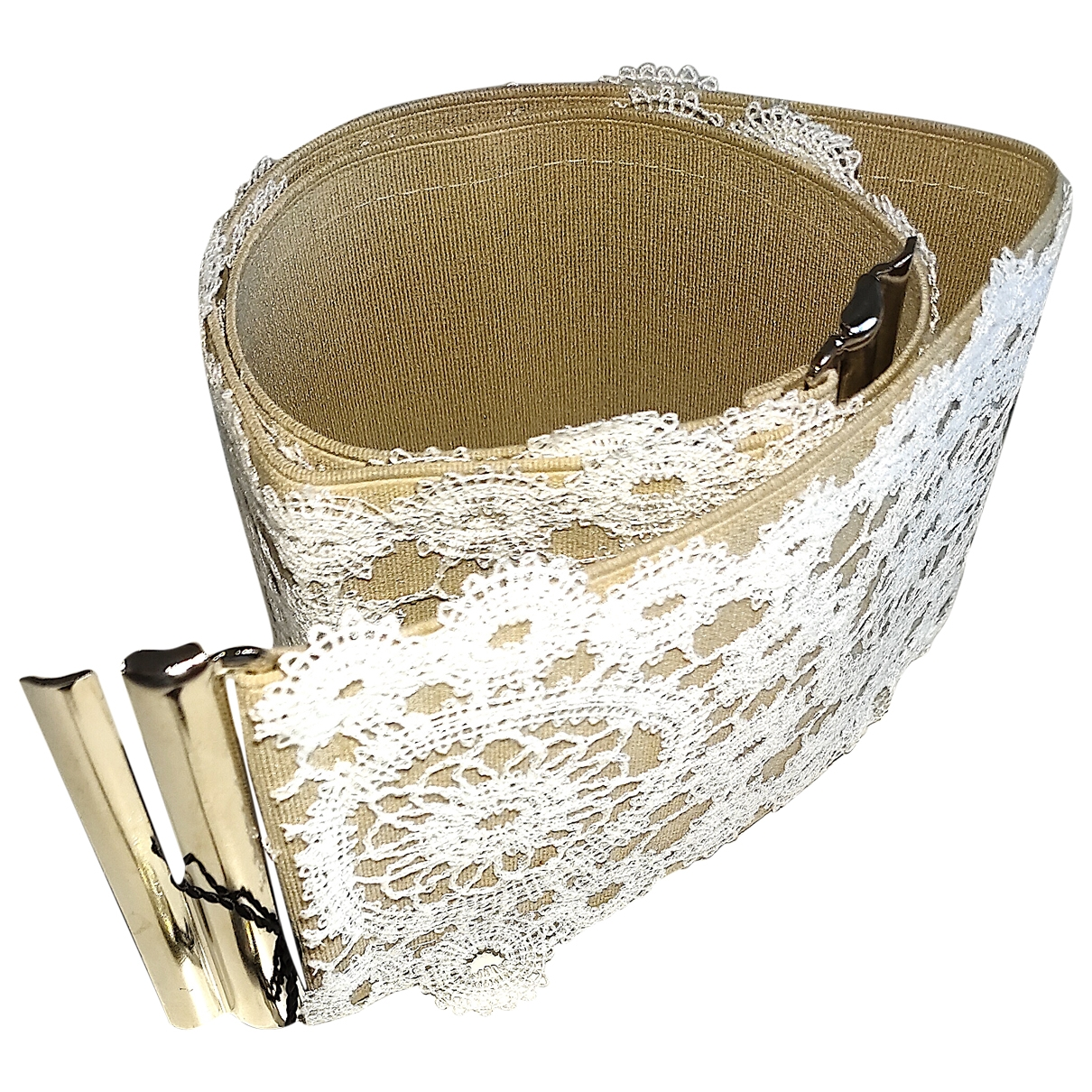 La Perla \N Beige Cloth belt for Women 42 IT