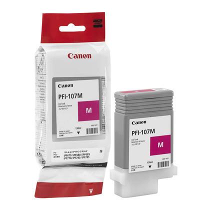 Canon PFI-107M 6707B001AA cartouche d'encre originale magenta