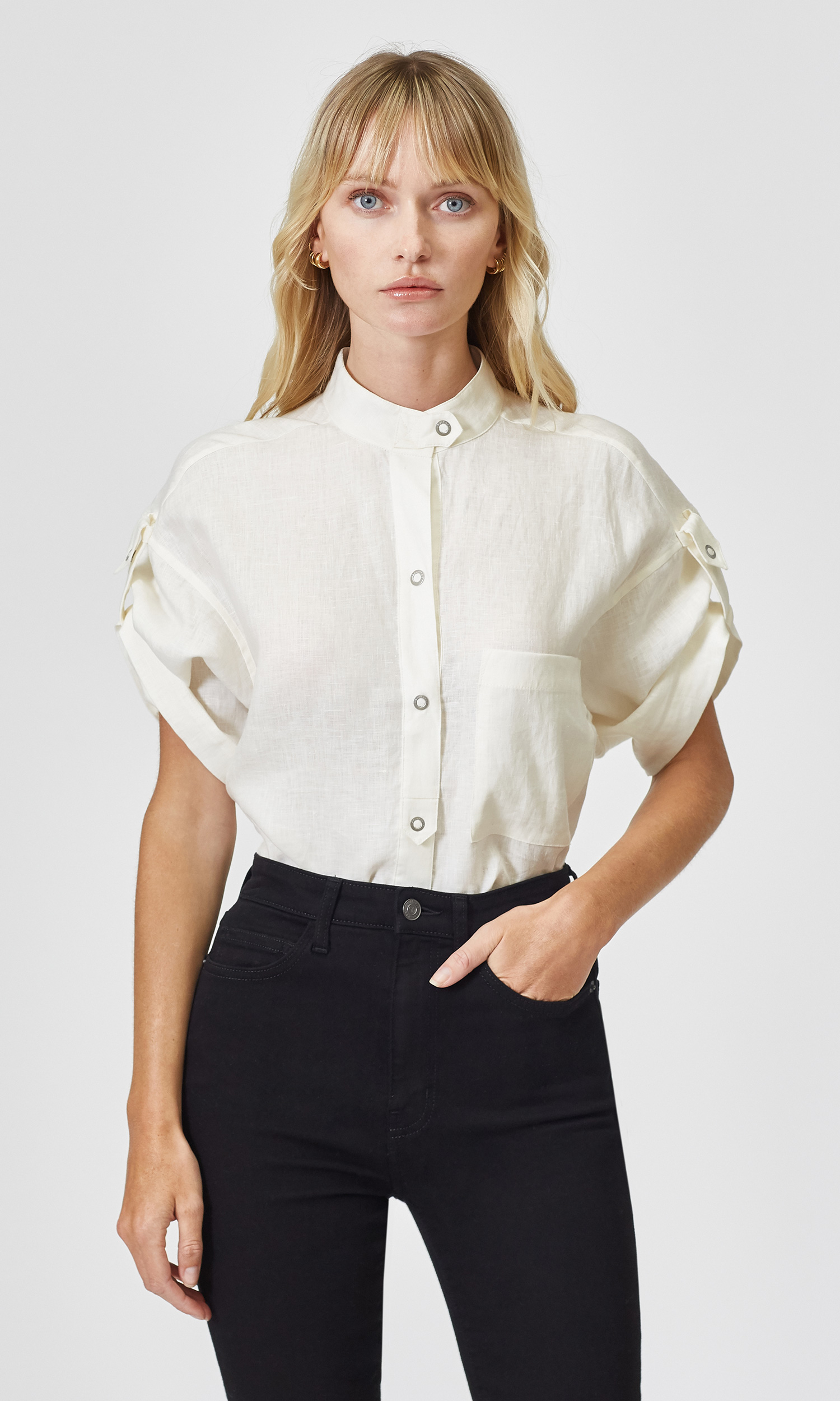 Drace Linen Shirt by Equipment