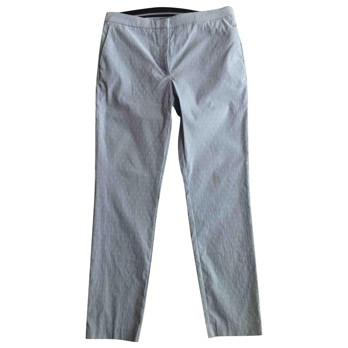Zara \N Cotton Trousers for Women XL International