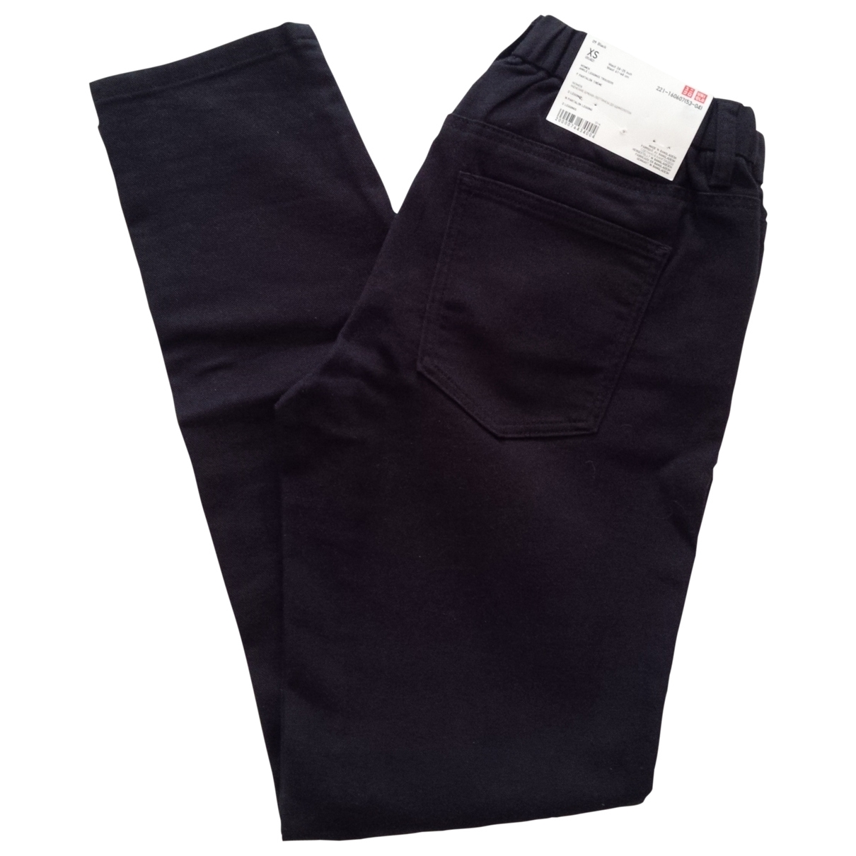 Uniqlo \N Black Cotton Trousers for Women XS International