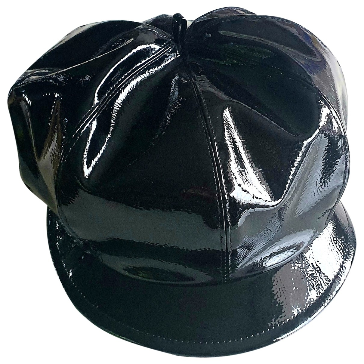 Non Signé / Unsigned \N Black \N hat for Women M International