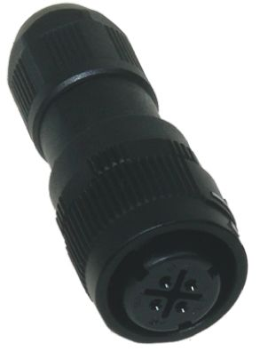Hirose Connector, 4 contacts Cable Mount Miniature Plug, Solder IP67, IP68
