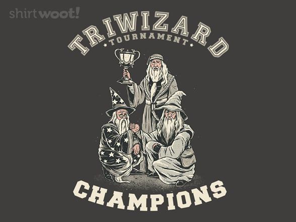 Triwizard Tournament Champs T Shirt