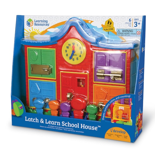 Learning Resources® Latch & Learn School House™ | Michaels®