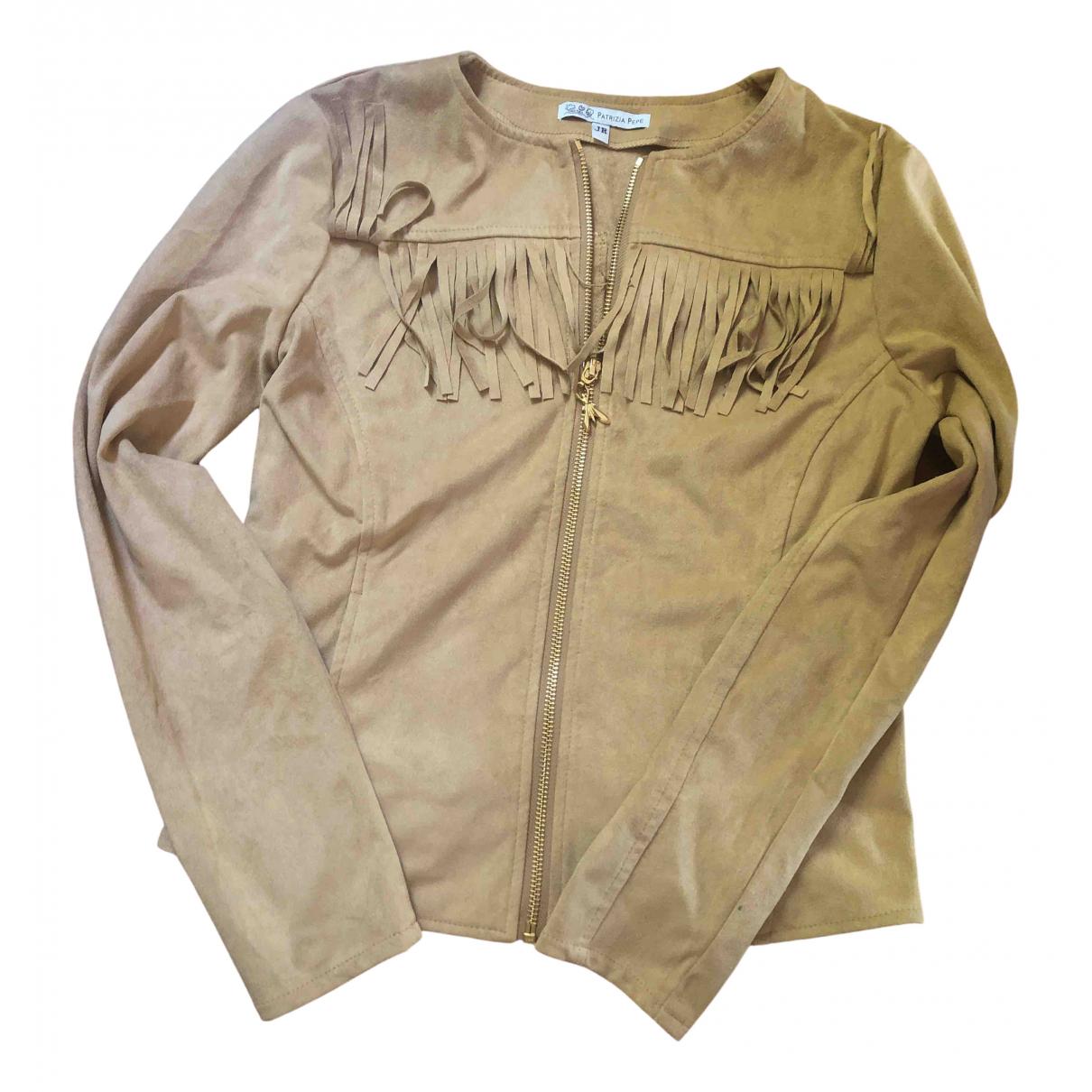 Patrizia Pepe \N Camel jacket & coat for Kids 14 years - S FR