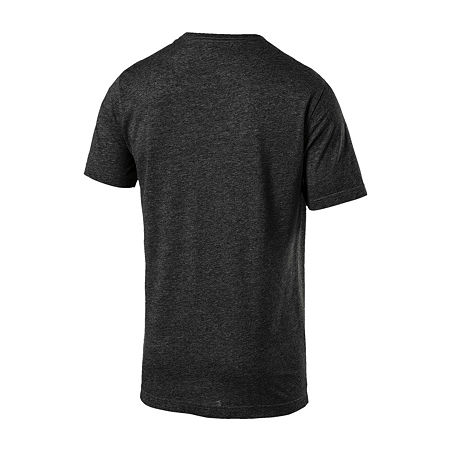Puma-Big and Tall Mens Crew Neck Short Sleeve T-Shirt, 3x-large , Black