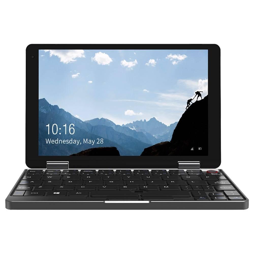 Chuwi Minibook Laptop Intel Core M3-8100Y 8 Inch 1920*1200 Screen Backlit Keyboard Windows 10 8GB RAM 256GB SSD - Black