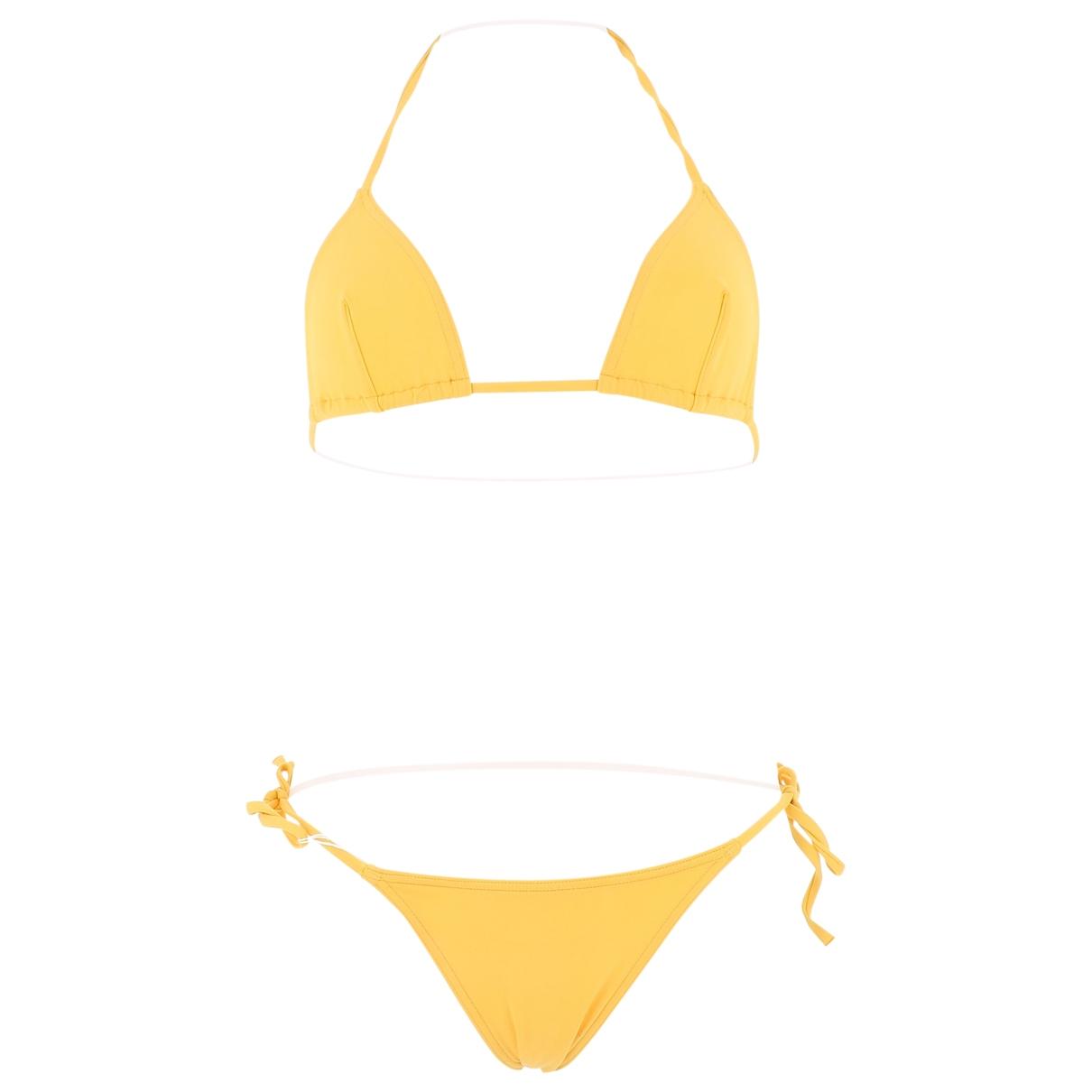 Eres \N Yellow Swimwear for Women 38 FR