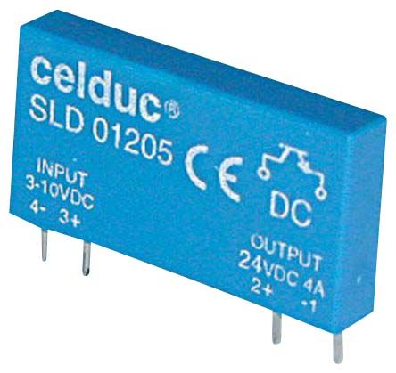 Celduc Non-Latching Relay SPST PCB Mount Single Pole