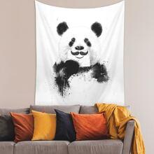 Panda Print Tapestry