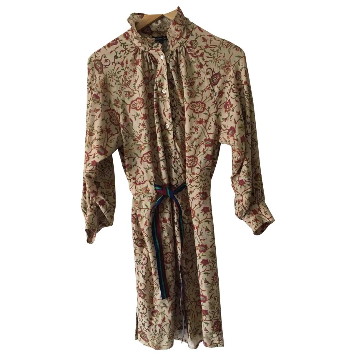 Soeur \N Beige Silk dress for Women 36 FR
