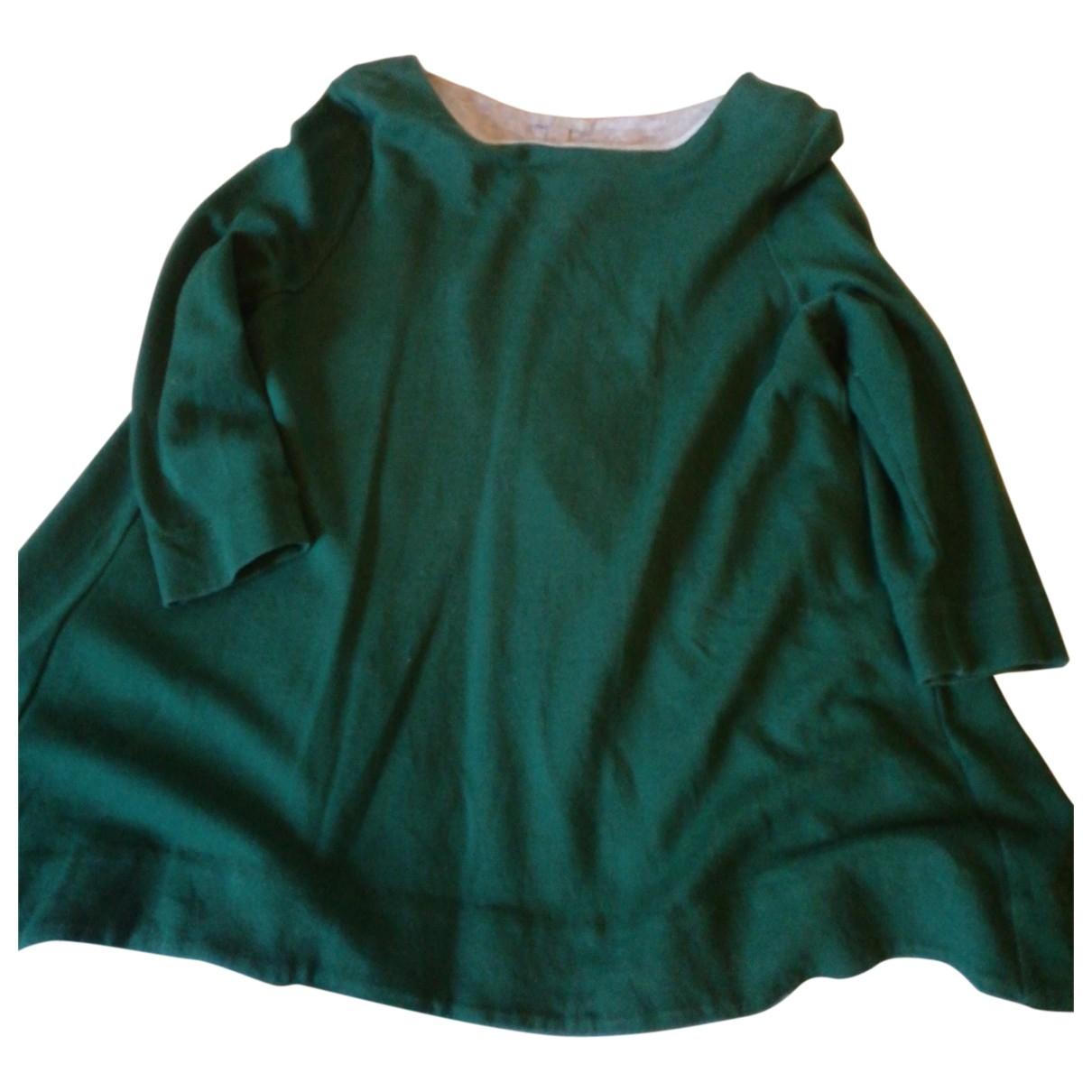 Cos \N Green Cotton Knitwear for Women 42 IT