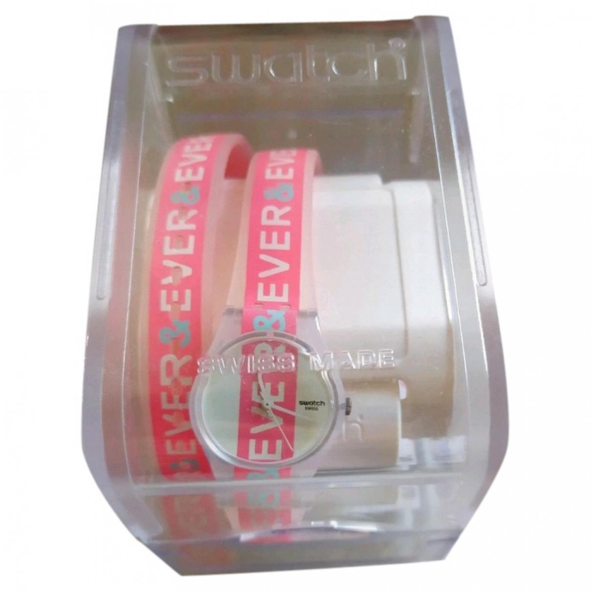 Swatch \N Pink watch for Women \N