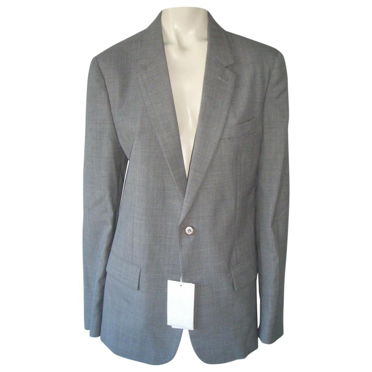 Maison Martin Margiela \N Grey Wool jacket  for Men 50 IT