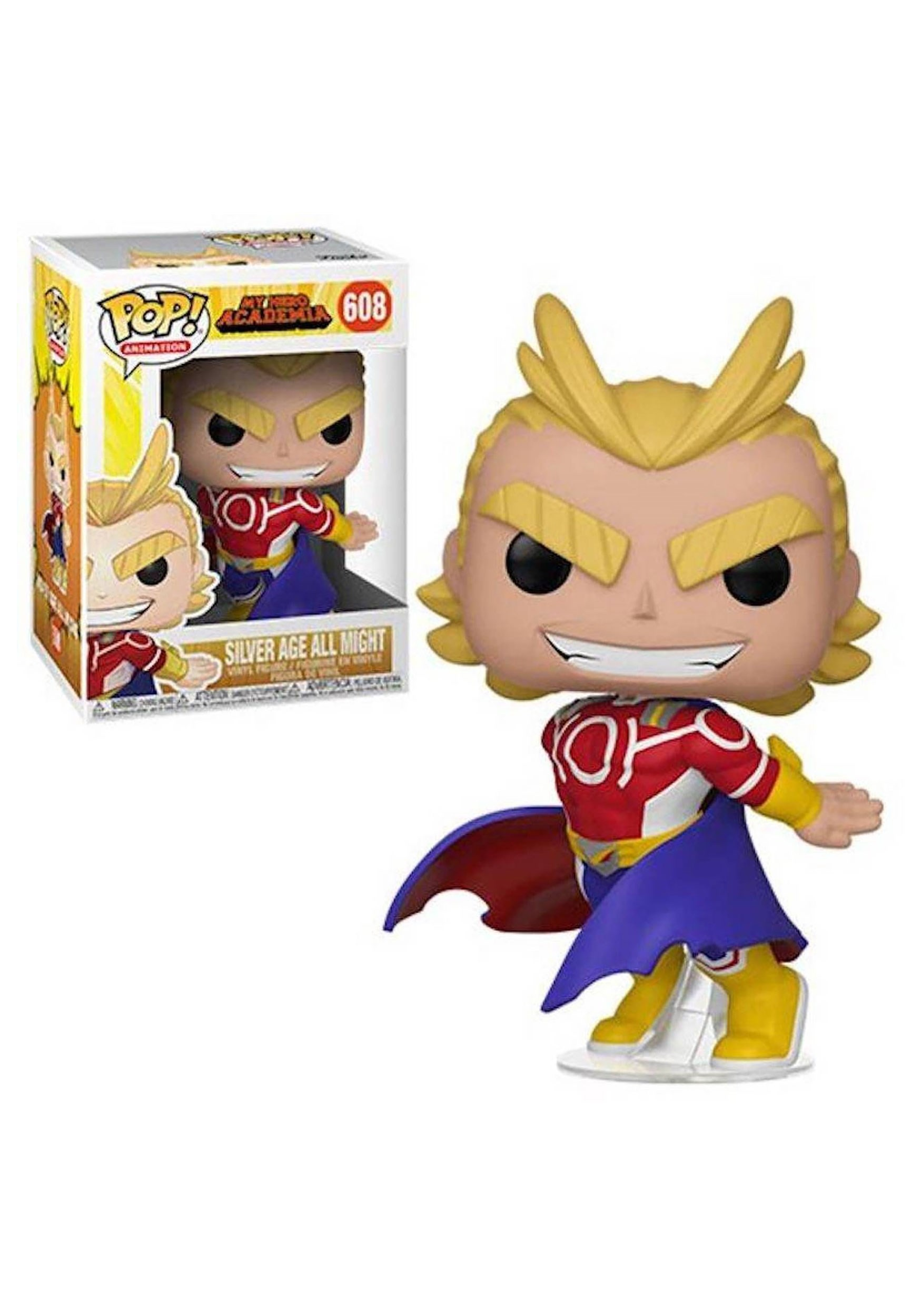 My Hero Academia- All Might (Silver Age) Pop! Animation