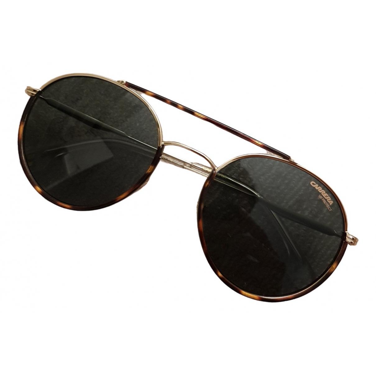 Carrera \N Gold Metal Sunglasses for Women \N