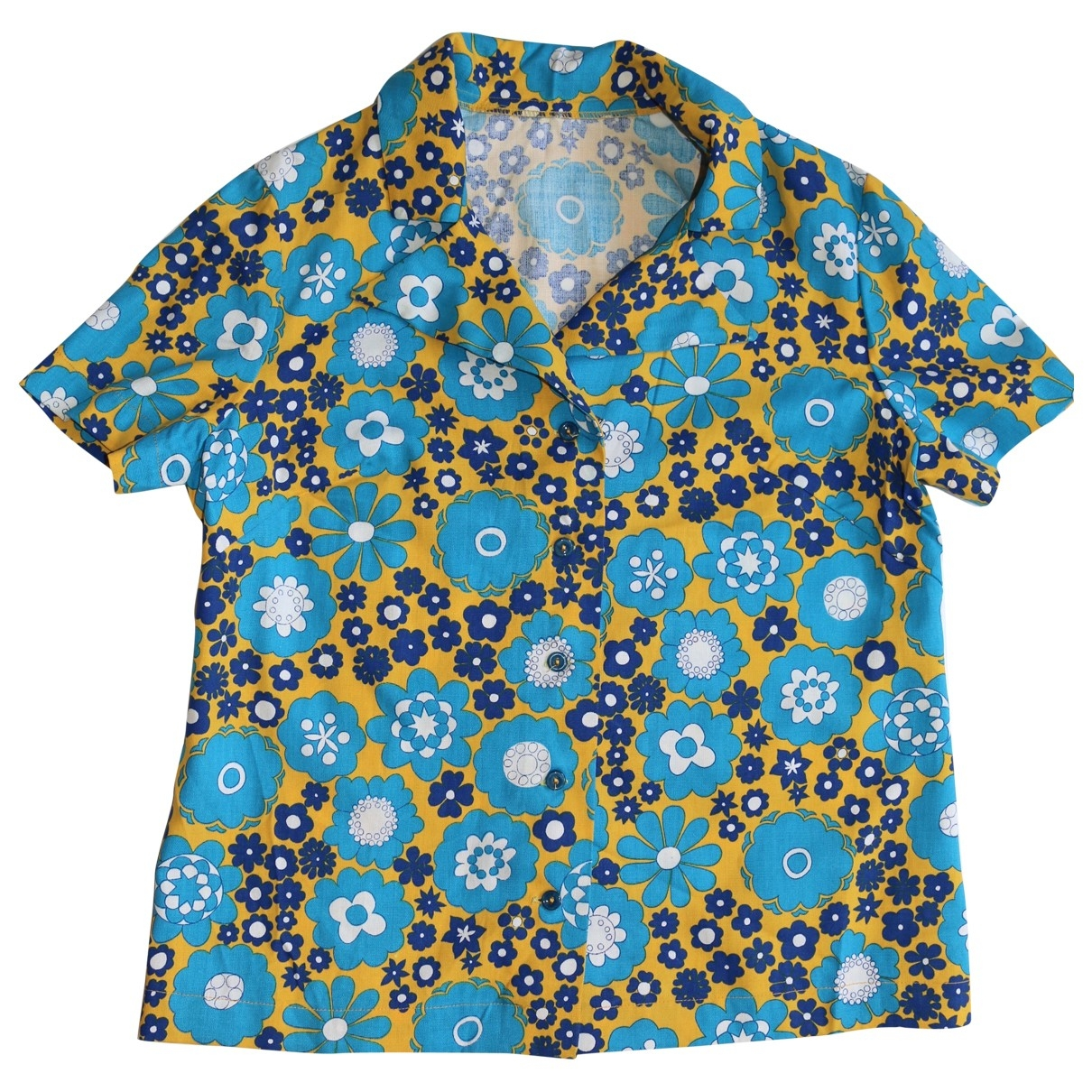 Non Signé / Unsigned \N Multicolour Cotton  top for Women One Size