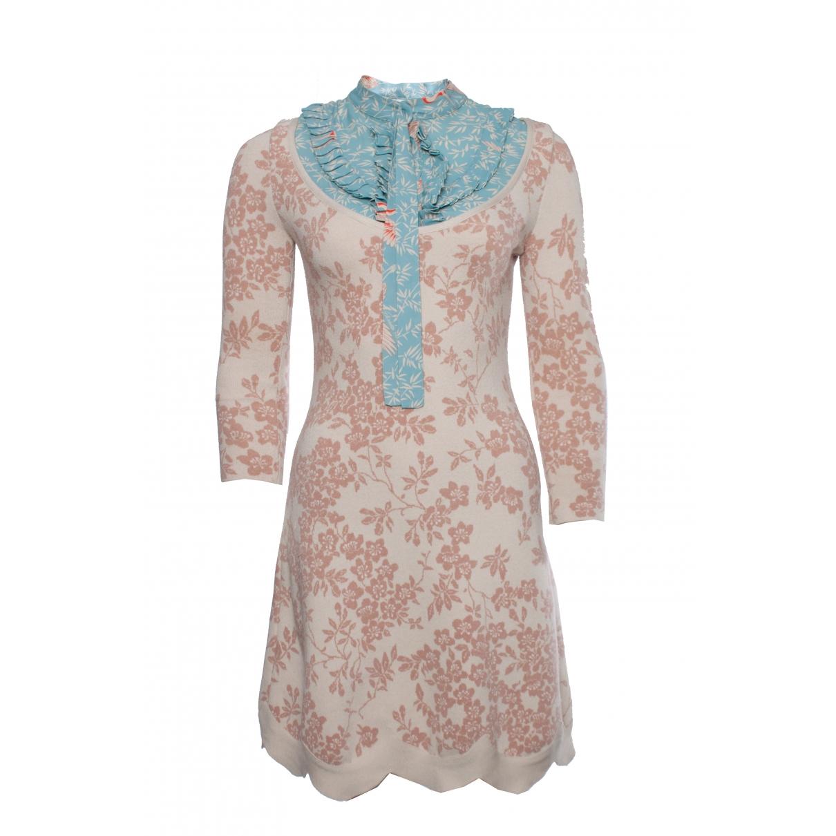 Elisabetta Franchi \N Beige dress for Women 40 IT