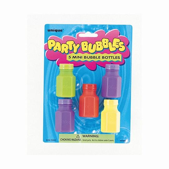 Mini Bubbles Party Favors, 5Ct By Unique | Michaels®