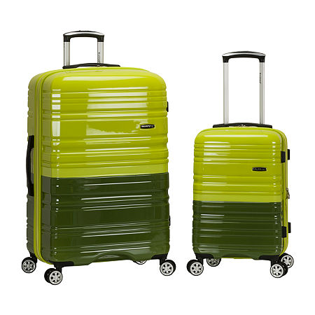 Rockland Melbourne 2-pc. Hardside Spinner Luggage Set, One Size , Green