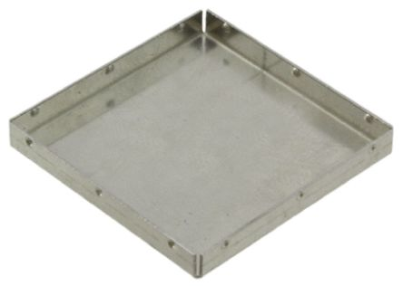 Wurth Elektronik WIR-SHC Tin Plated Steel PCB Enclosure, 26.8 x 26.8 x 3mm