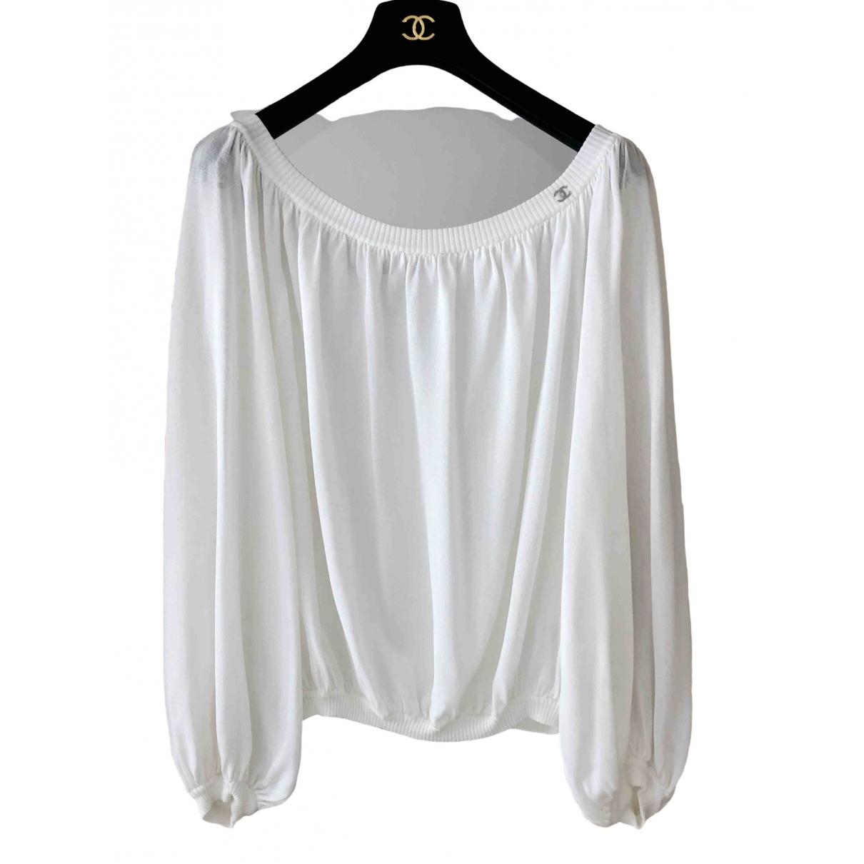 Chanel \N White  top for Women 38 FR
